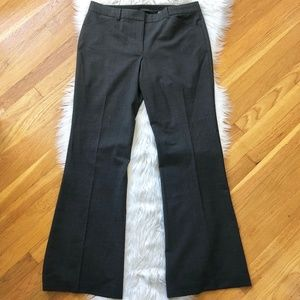 ELIE TAHARI Gray Wool Dress Pants 12